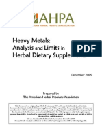09 1214 AHPA Heavy Metals White Paper Revised