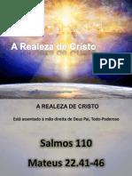 Realeza de Cristo