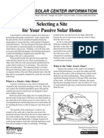 07sithomSelecting a Site for Passive Solar Home