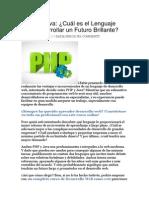 PHP vs Java