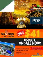 Six Flags 2014