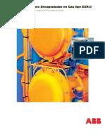 Subestaciones Encapsuladas en Gas Tipo Exk 0