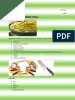 recipe for website