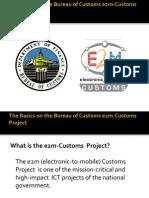 The Basics on the Bureau of Customs e2m-Customs