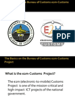 The Basics on the Bureau of Customs e2m-Customs