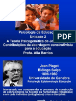 A Teoria Psicogenetica de Piaget(1)