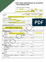 Formato Academico Cadena de Custodia