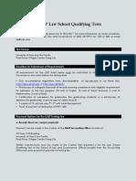 UA&P LSQT Procedure for SY 2016-2017