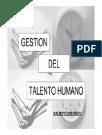 Gestion Del Talento Humano Chiavenato