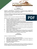 Estatutos Que Rigen La Asociacion de Jueces y Magistrados Del Organismo Judicial Ajmoj