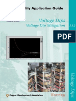 Power Quality Application Guide_Voltage Dips Mitigation Copper