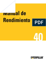 Caterpillar Perfomance Handbook 40 Espanol