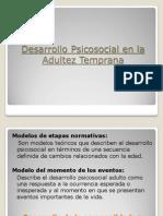 Clase 6 Desarrollo Psicosocial Modelos