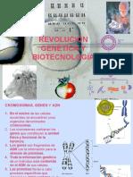 REVOLUCIÓN GENÉTICA Y BIOTECNOLOGÍA