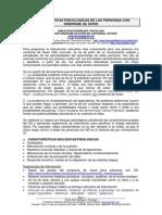 1.- CARACTERÍSTICAS PSICOLÓGICAS