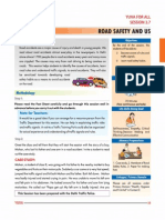 7. Road Safety and Us