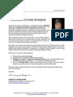 2014  Sponsorship Package