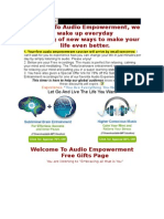Welcome to Audio Empowerment