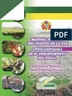 Manual Tecnico de La Uva en El Huila