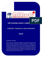 2. Rules - Fire Fighting Robot - Other IHL