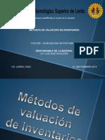 Valuacion de Inventarios