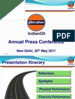 Annual Press Conference 2011 29-05-11