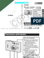 Manual Camara SD450