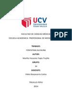 Niveles en Sangre de Fosfatasa Alcalina en Alumnos Del Grupo 14