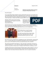 Alberto Pimentel letter-reject Ricky Polston as FSU President-Aug-28-2014