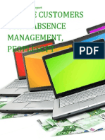 Oralce Customers using Absence Management, PeopleSoft - Sales Intelligence™ Report