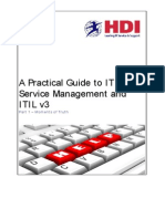 A Practical Guide to ITSM and ITIL 3 _3_.Doc a Practical Guide to ITSM and ITIL 3 Part 1 Moments of Truth
