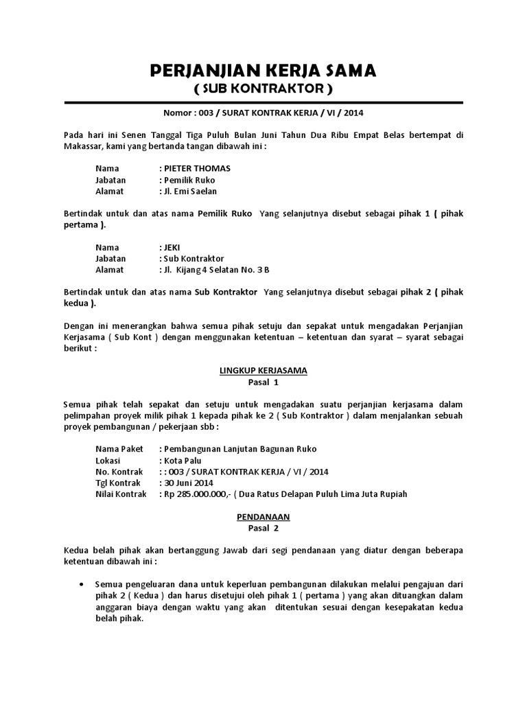Penulisan2u dating kontrak 16