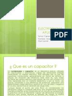ELECTROTECNIA APLICADA - CAPACITANCIA