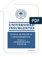 Manual de Administración Escolar