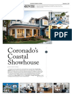 Coronado Home featured in Home of the Month