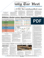 The Daily Tar Heel for September 3, 2014