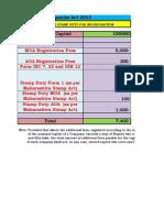 Filing Fees Master Calculator 2013