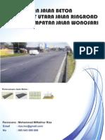 Laporan Struktur Jalan Beton 1