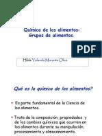 1 Química de Los Alimentos Disciplinas Afines - Morante