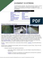 9.7 Pavement Evaluation - Flexible Pavement Distress