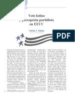 Voto Latino y Percepción Partidista en EEUU (Bien Común 233)
