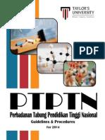 PTPTN Guidelines and Procedures 2014