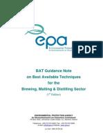Bat Guidance Note Brewing Malting Distilling