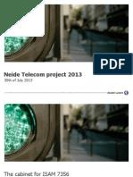 Neide Telecom MSAN 2013