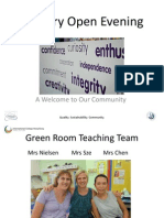 Green Open Evening