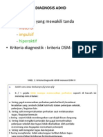 ADHD (Diagnosis, Terapi, Prognosis)