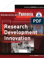 University of Pannonia Faculty of Engineering Research - Development - Innovation