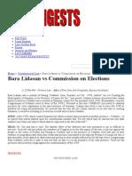 001 Bara Lidasan vs Commission on Elections _ Uber Digests
