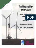 Niobrara Play Overview