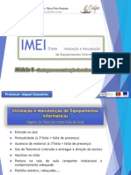 M8 - Montagem e Manutenção de Redes de Dados